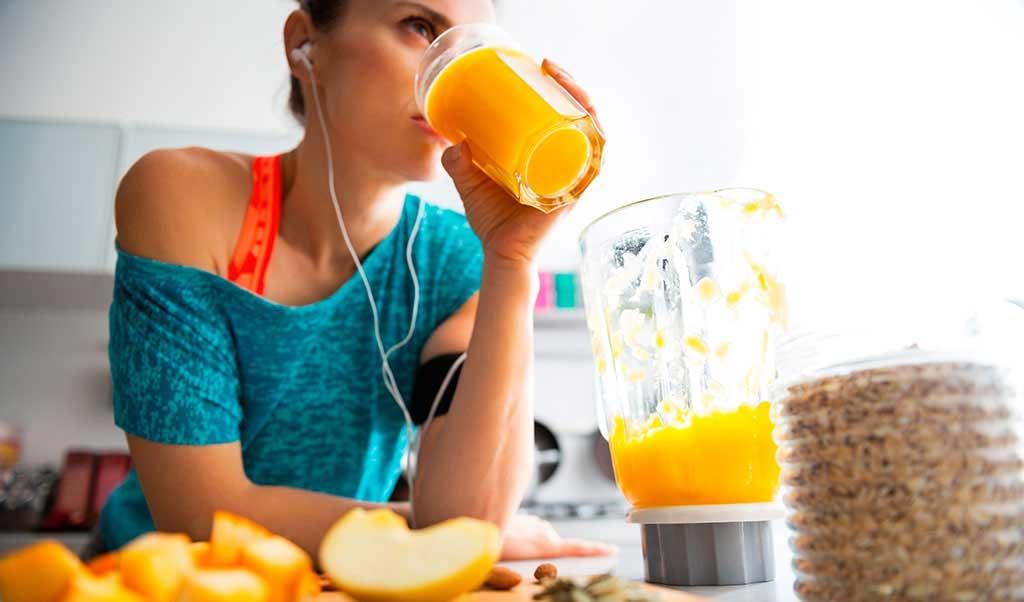 O que comer depois dos exercícios?