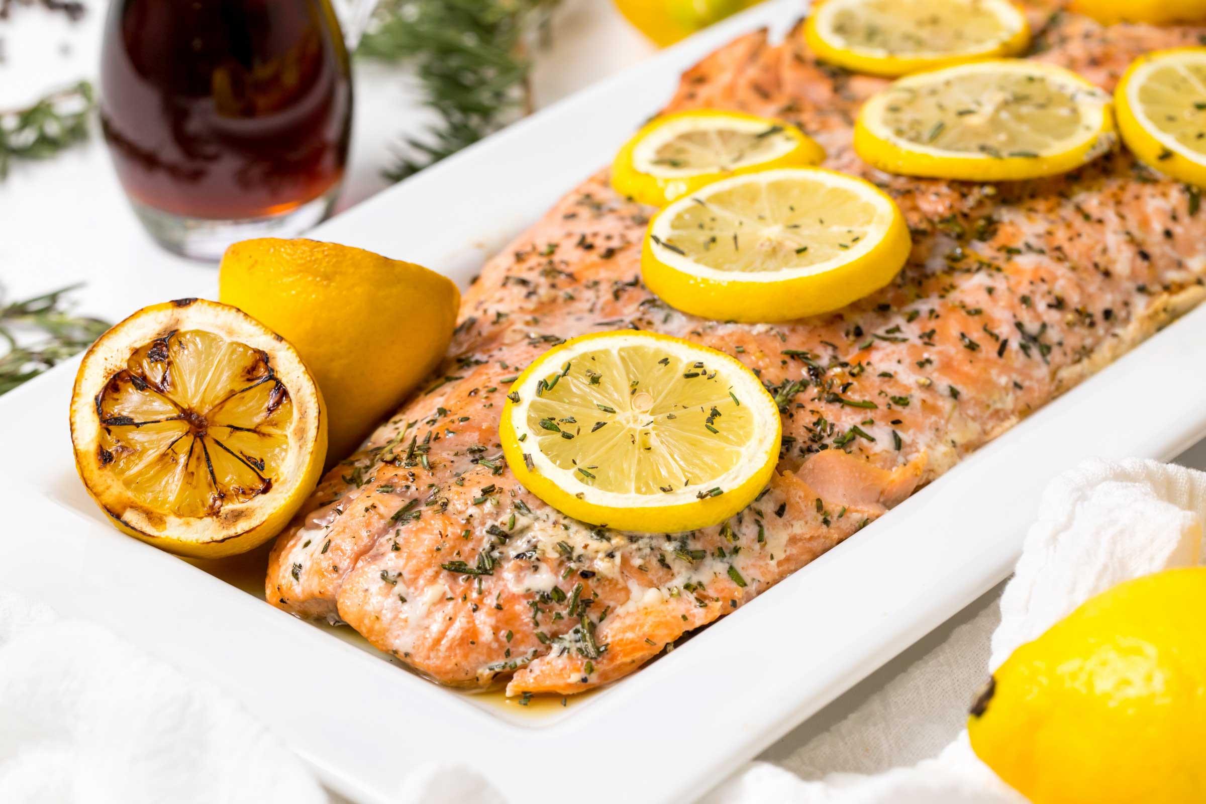O salmão que não é saudável